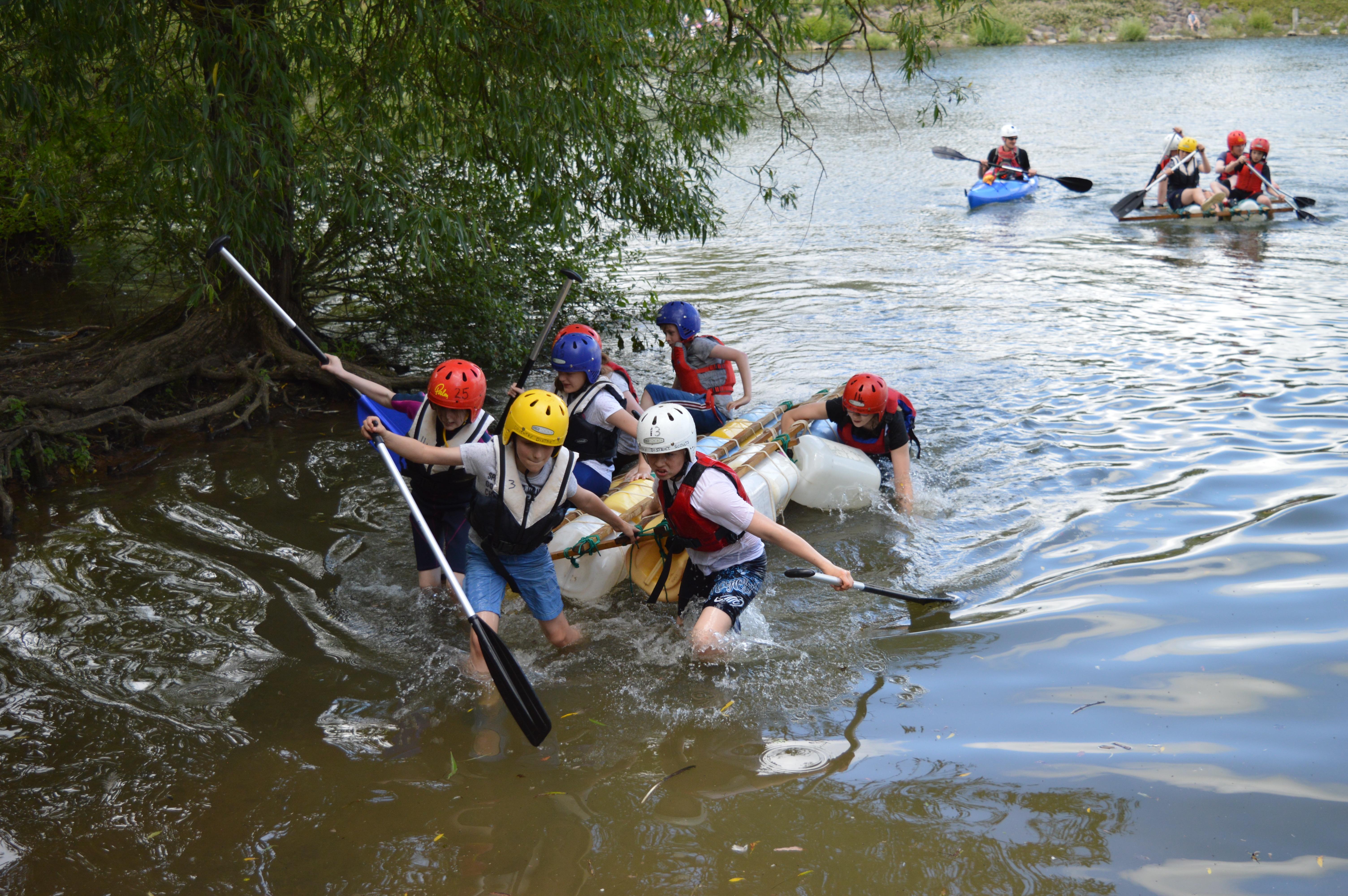 Scouts District Raft Race June 2019