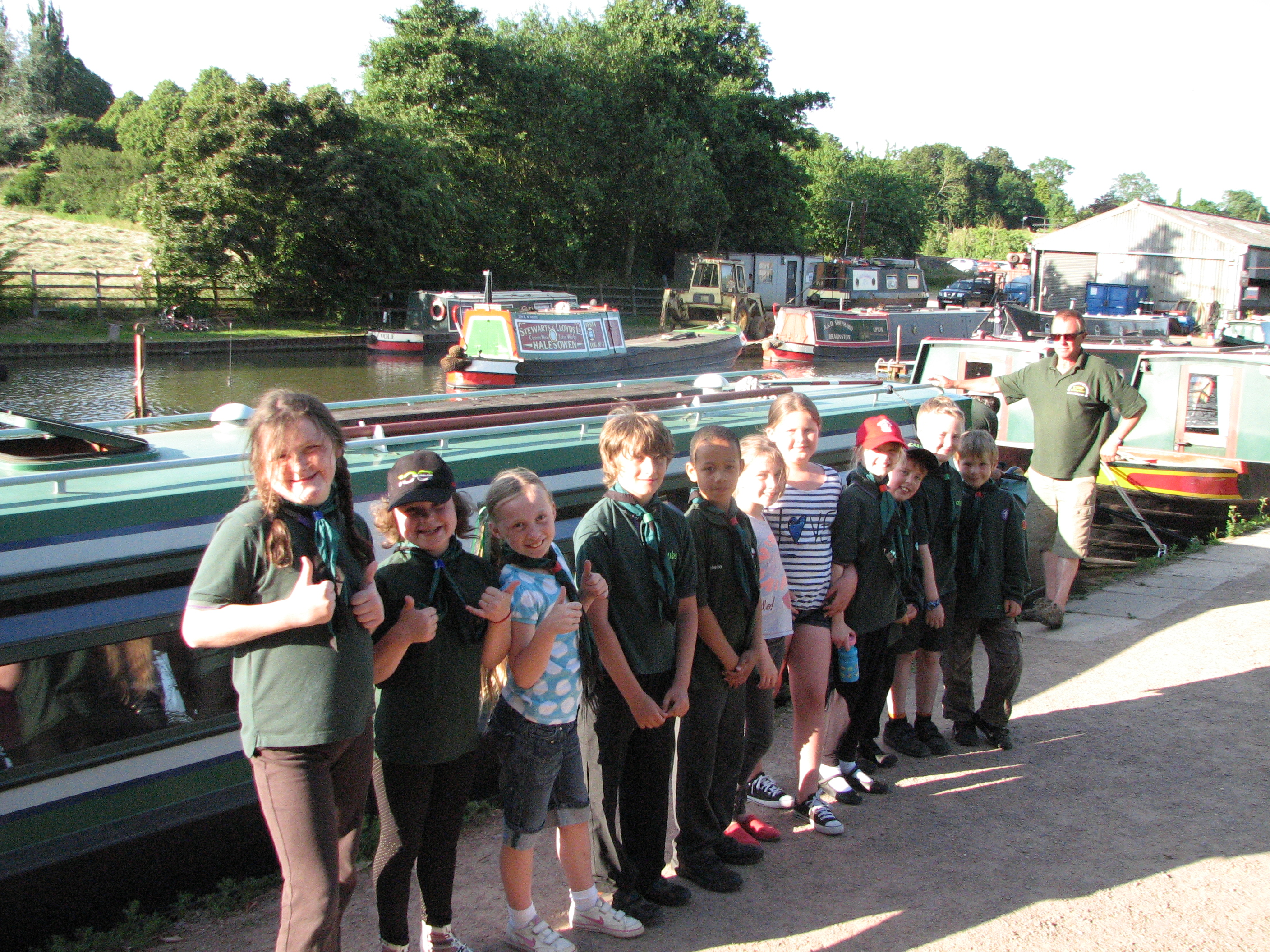 Cubs Canal Cruise July 2013