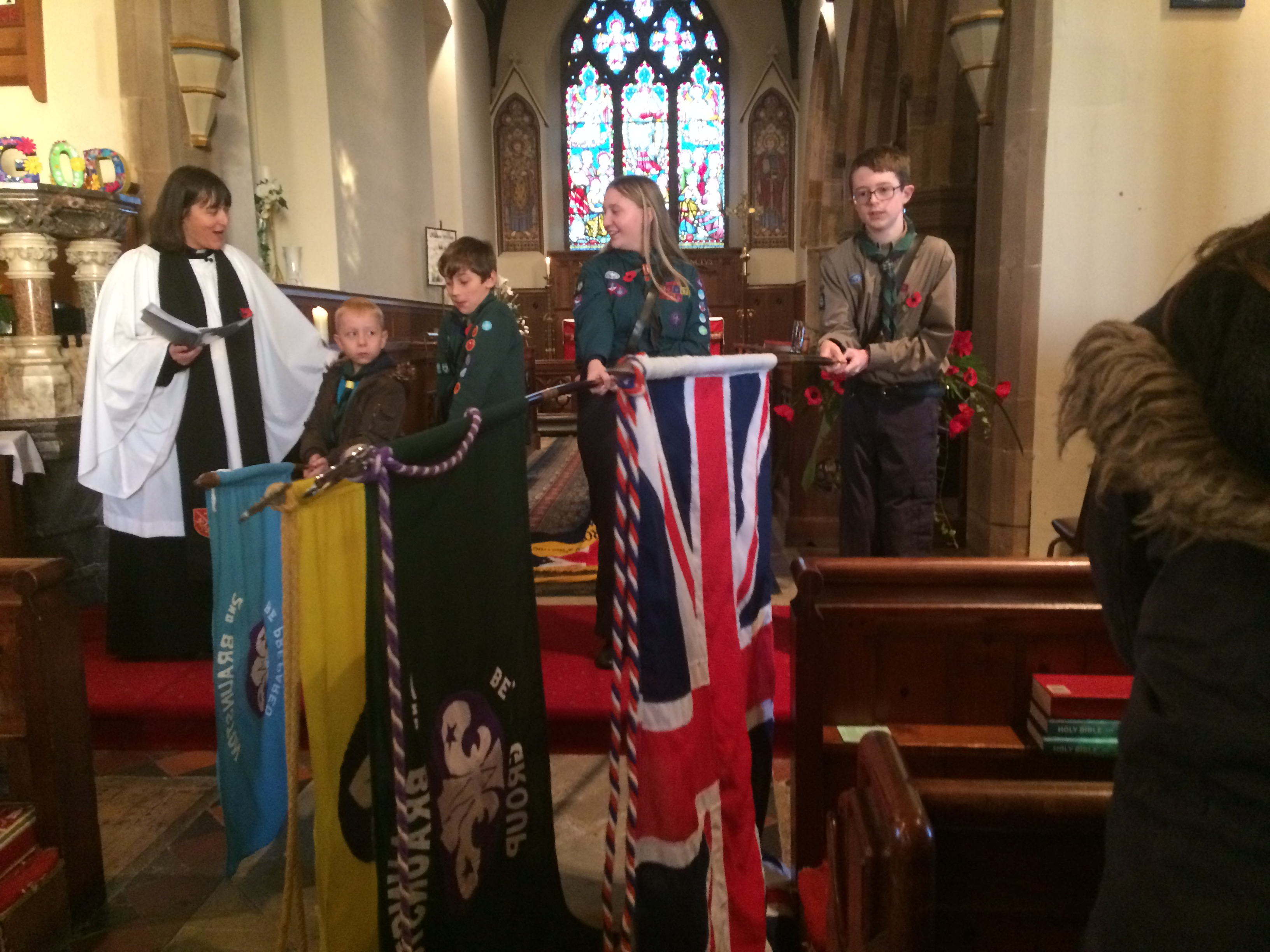 Cubs Remembrance Sunday