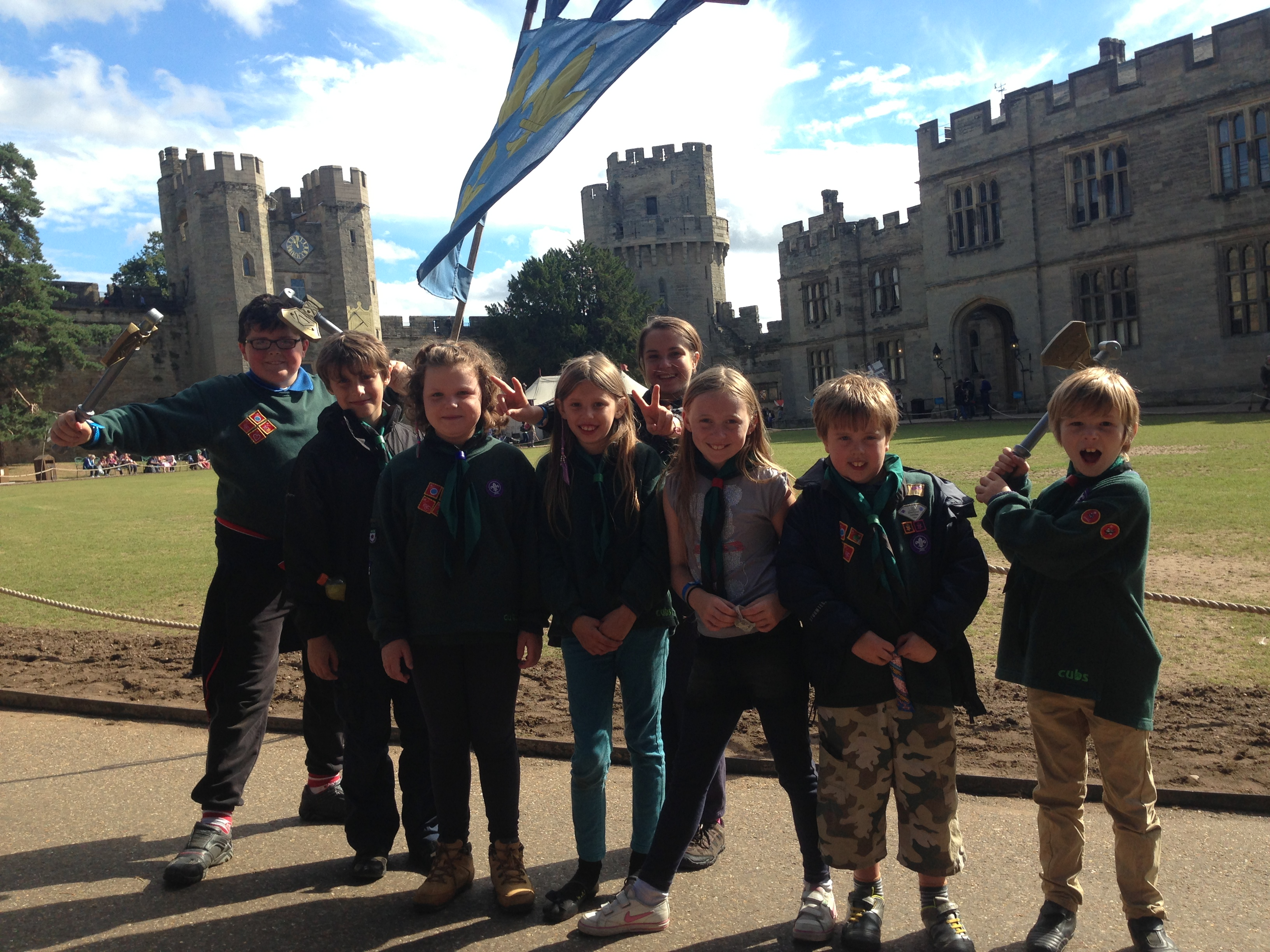 Warwick Castle Camp