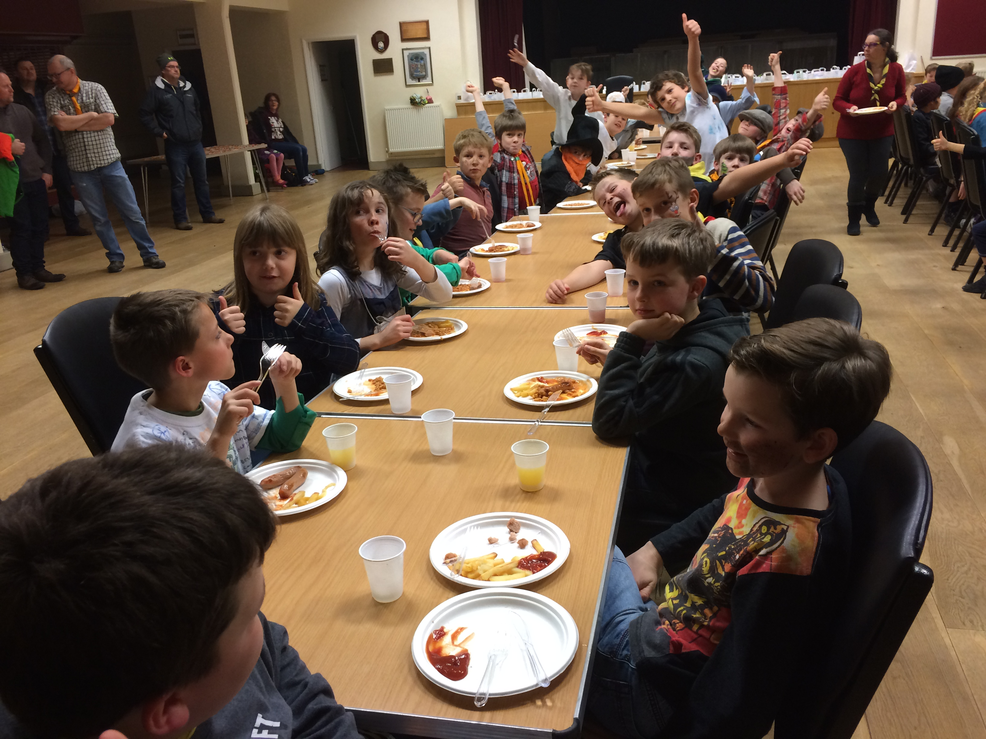 District Cubs Party